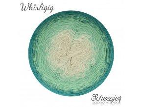 Scheepjes Whirligig, 205 TEAL TO OMBRÉ, 1x450g