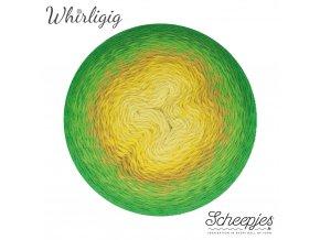 Scheepjes Whirligig, 206 GREEN TO OCHRE, 1x450g