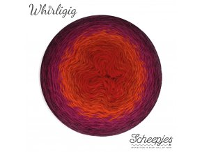 Scheepjes Whirligig, 209 PLUM TO RED, 1x450g