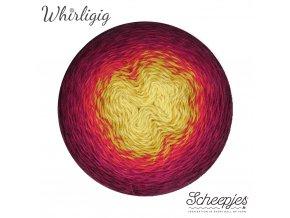 Scheepjes Whirligig, 210 PLUM TO OCHRE, 1x450g