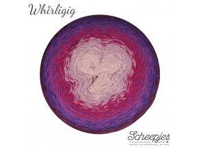 Scheepjes Whirligig, 211 PLUM TO PINK, 1x450g