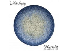 Scheepjes Whirligig, 212 SAPPHIRE TO BLUE, 1x450g