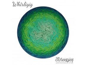 Scheepjes Whirligig, 213 SAPPHIRE TO TEAL, 1x450g