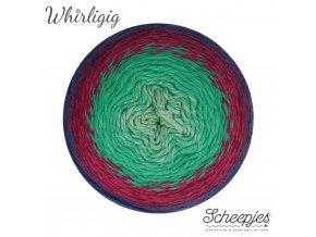 Scheepjes Whirligig, 214 SAPPHIRE TO JADE, 1x450g
