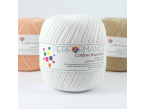 Performance yarn Cotton Harmony 0301, 100g