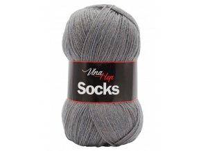 Ponožková příze Vlna-Hep Sock 6235, 75% vlna, 25% polyamid, 100g