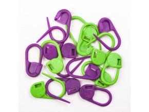 Knit Pro značítka - pomůcka pro pletení a háčkování 30ks