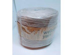 Špagáty Welcome yarn tmavo béžová