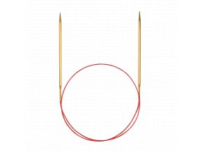 Jehlice kruhové Addi Premium Gold 5,50mm/100cm