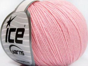Baby Merino Soft Baby Pink