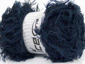 Příze Eyelash Wool Navy 44313