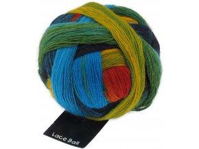 Lace Ball 1564_Frische Fische 75% merino, 25% polyamid krajková příze