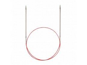 Jehlice kruhové Addi Premium Silber 4,00mm různé délky lanka