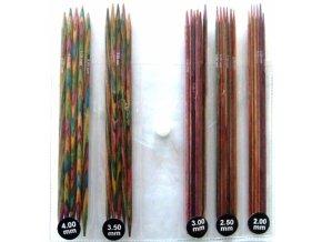 Ponožkové jehlice Knit Pro Symfonie set 15cm, 5 sad 2,00 - 4,00mm