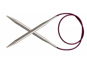 Jehlice kruhové Knit Pro Nova Metal 6,00mm různé délky lanka