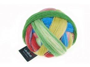 Lace Ball 2310_ Bunte Gasse 75% merino, 25% polyamid krajková příze