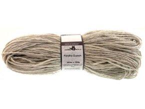 Příze Alpaka Queen (natural colours) 9220m light grey blend/light grey 50% Merino, 50% Alpaka, 100g