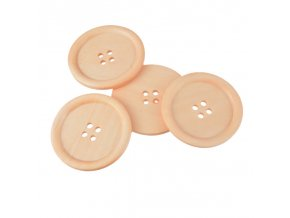 Hoomall Brand 5CM Big Wooden Buttons For Sweater Overcoat Clothing Sewing Accessories Crafts And Scrapbooking 10PCs