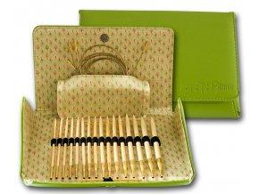 Jehlice kruhové  Bamboo 550-7 ADDI CLICK 8 párů -