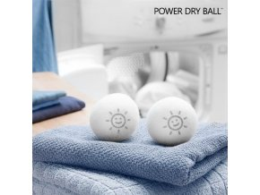 vlnene micky do susicky power dry ball 2 kusy