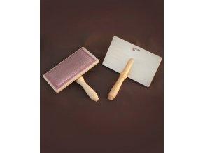 Krtáče Kromski na česání rouna (2 kusy)