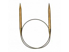 Addi luxusní kruhové jehlice z olivového dřeva 4,00mm různé délky lanka