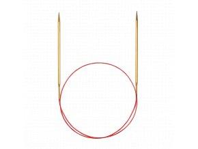 Jehlice kruhové Addi Premium Gold 3,75mm různé délky lanka