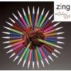 Jehlice Knit Pro Alu Zing šroubovací výměnné různé velikosti