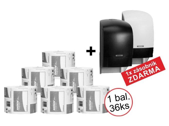 KATRIN SYSTEM PLUS papír na toaletu - 156050 1x balení + zásobník ZDARMA