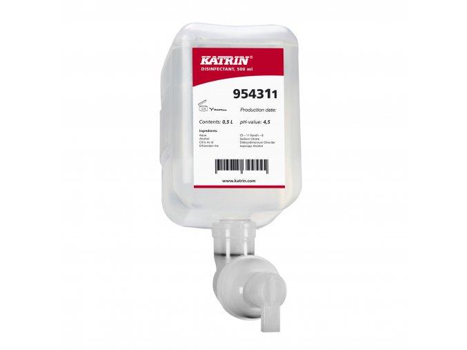 Deznfekční pěna KATRIN na WC sedátka 500ml - 954311
