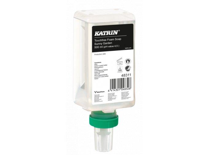 Pěnové mýdlo KATRIN SUNNY GARDEN 500ml senzor
