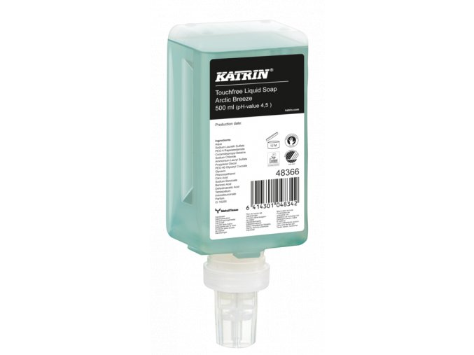 Tekuté mýdlo KATRIN 500ml ARCTIC BREEZE  - senzor