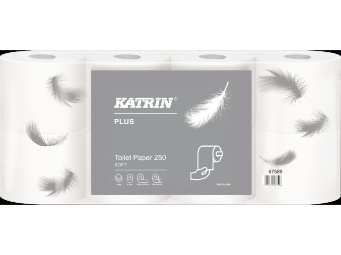 67589 Katrin Plus Toilet Paper 250