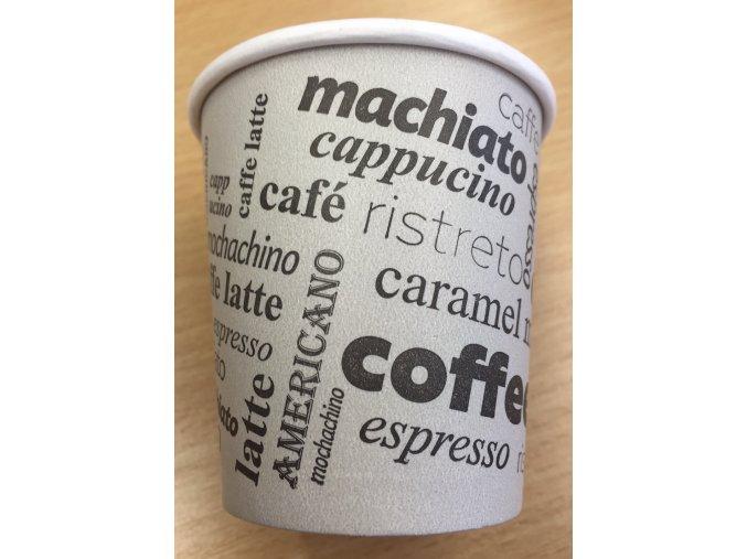 Kelímek na kávu papírový 0,1L (cena za 50ks)