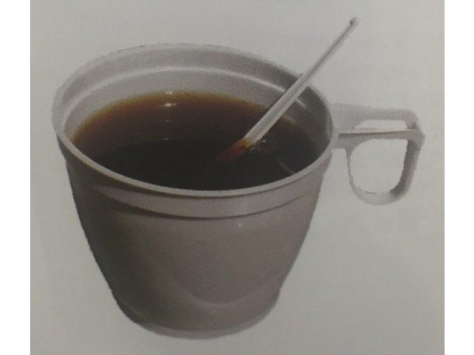 Kelímek na kávu s ouškem 0,18l bílý (cena za 60ks)