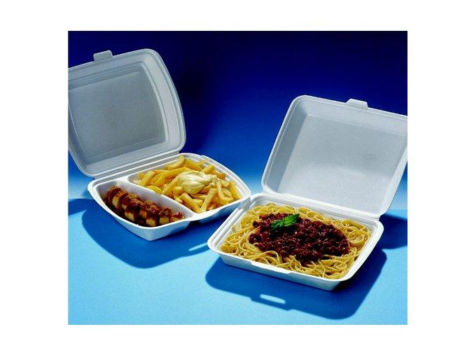 Menubox na jídlo 2-dílný (cena za 125ks)