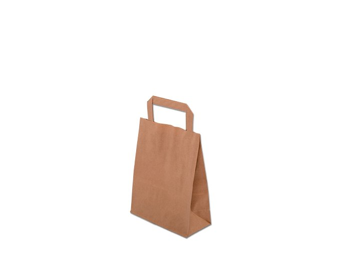 Papírová taška eko 180x80x230mm