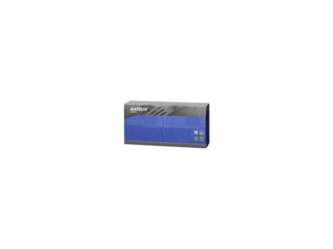 Papírové ubrousky Lunch 2-vrstvý, skládání 1/8 - 113709 - Modrá