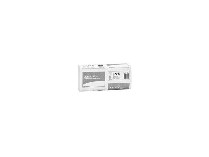 Papírové ZZ ručníky KATRIN Plus One stop L 2 - 345171
