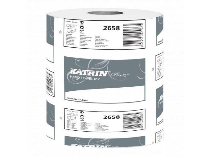 Papírový ručník v roli KATRIN PLUS M 2-PLY