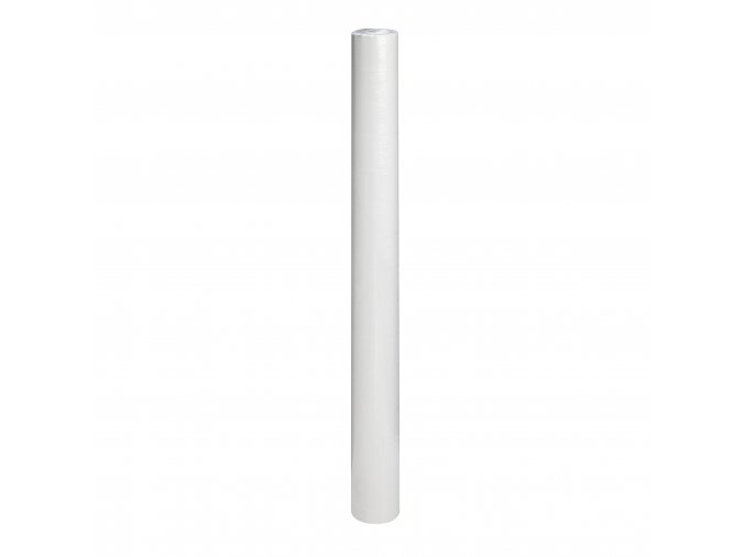 papírový ubrus v roli 80 cm x 50 m bílý - 117035