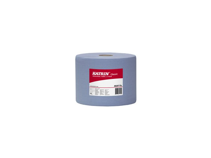 Průmyslová utěrka papírová KATRIN CLASSIC L 2 Modrá - 464118