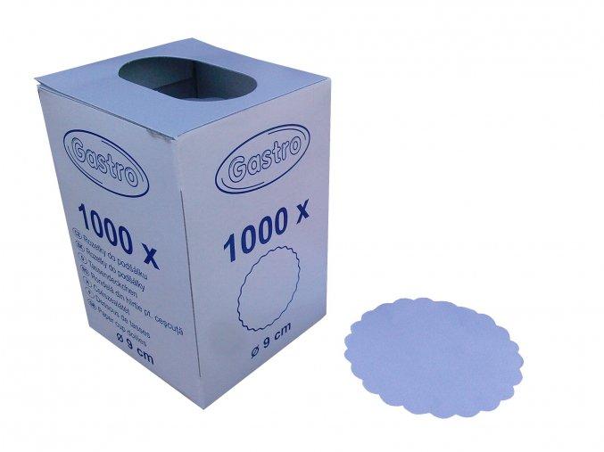 Rozetky papírové 9cm (cena za 1000ks)