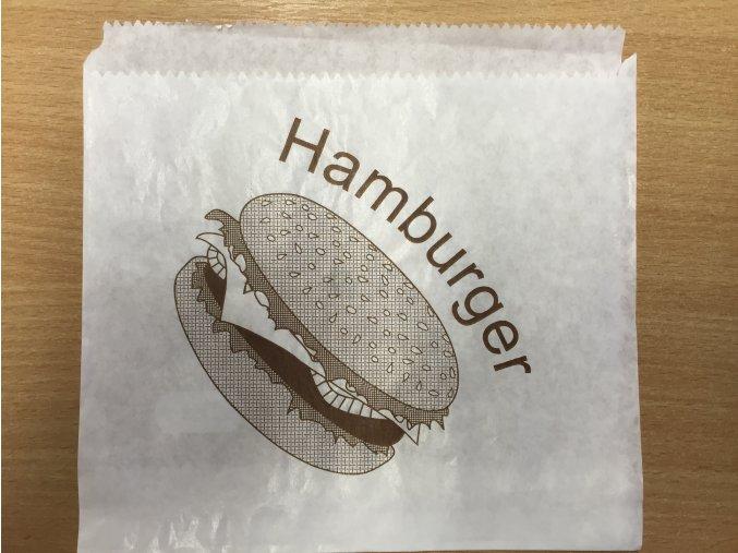 Sáček na hamburger 16x16cm (cena za 500ks)