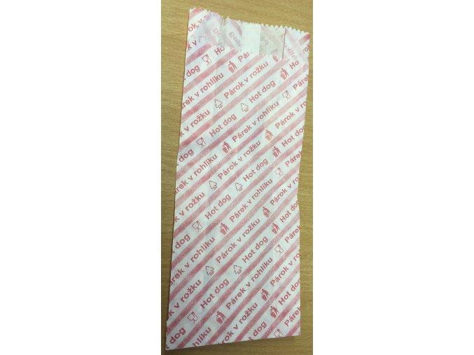 Sáček na párek v rohlíku 7x15cm (cena za 100ks) - 38.0050
