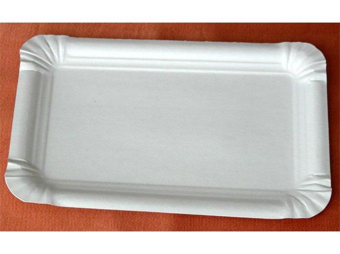 Tácek papírový č.4 (cena za 100ks) 13x20cm