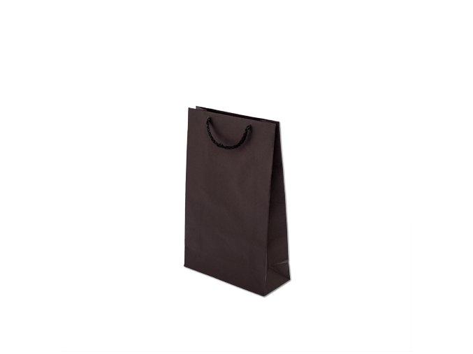 Taška barevná papírová 170x70x250mm - černá