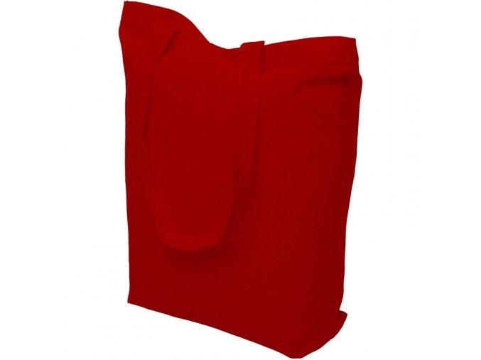 Bavlněná nákupní taška červená - 15.0034 - 390x410mm