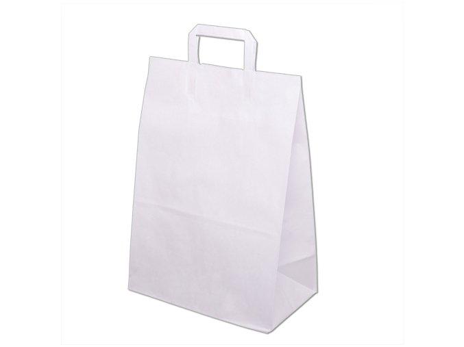 Taška papírová 450x170x480mm - Bílá