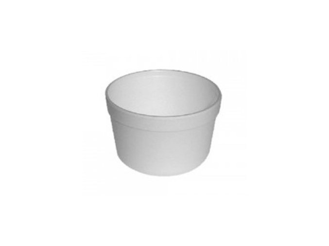 Termo miska na polévku polystyren velká (cena za 25ks)